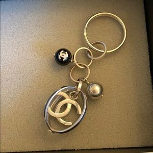 Authentic Chanel key chain, very cute for all 👜